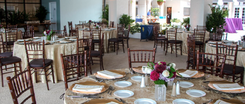 Table and Chair Rentals for event