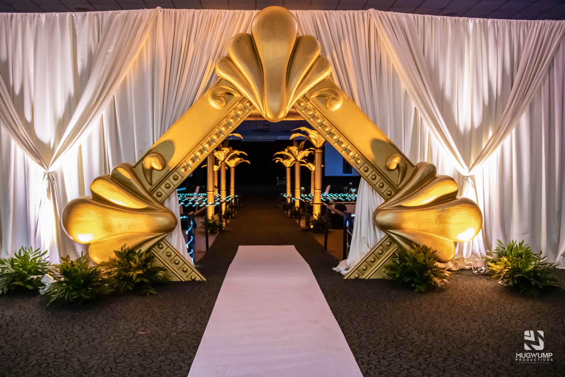 Fabric Event Entrance