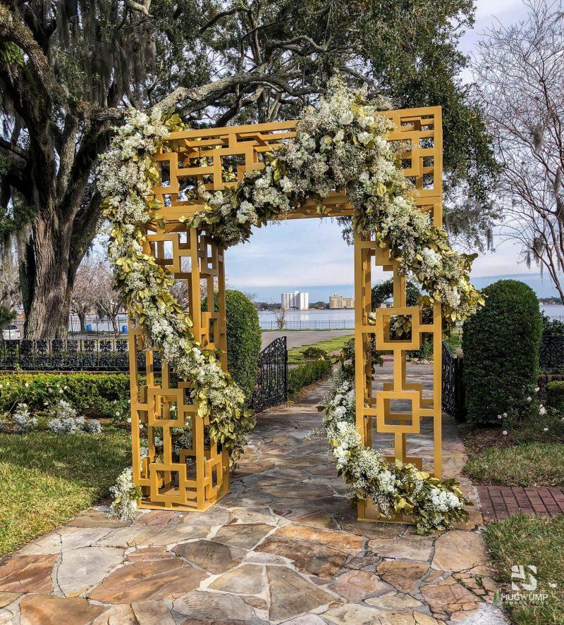 Geometric-Wedding-Arbor