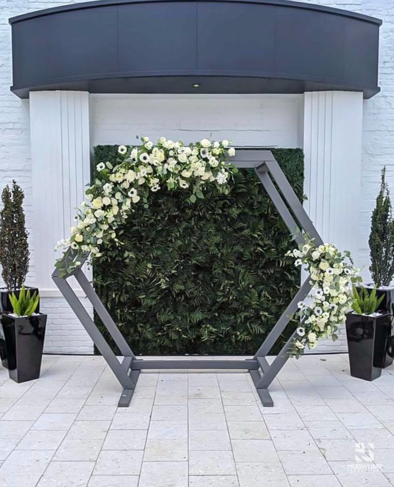 Hexagon-Wedding-Arbor