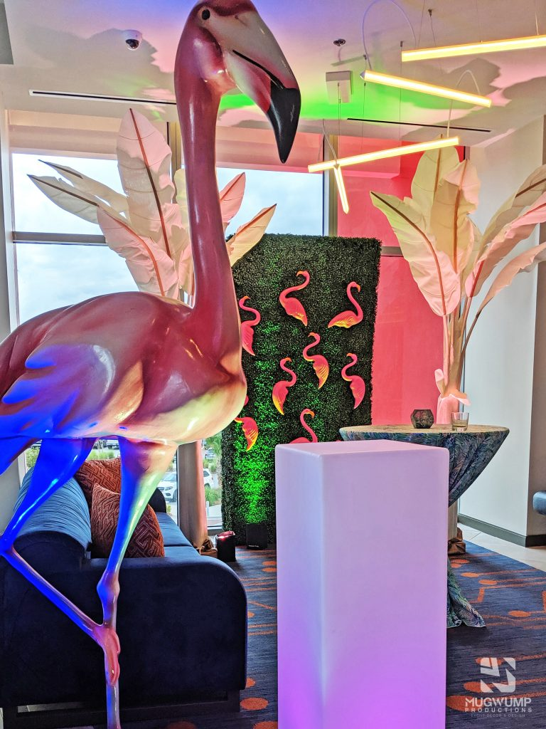 Flamingo Event Decor