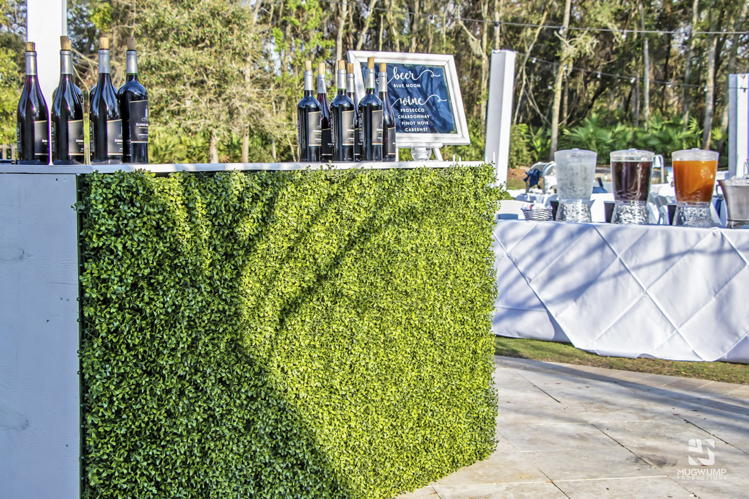Boxwood Bar Rental
