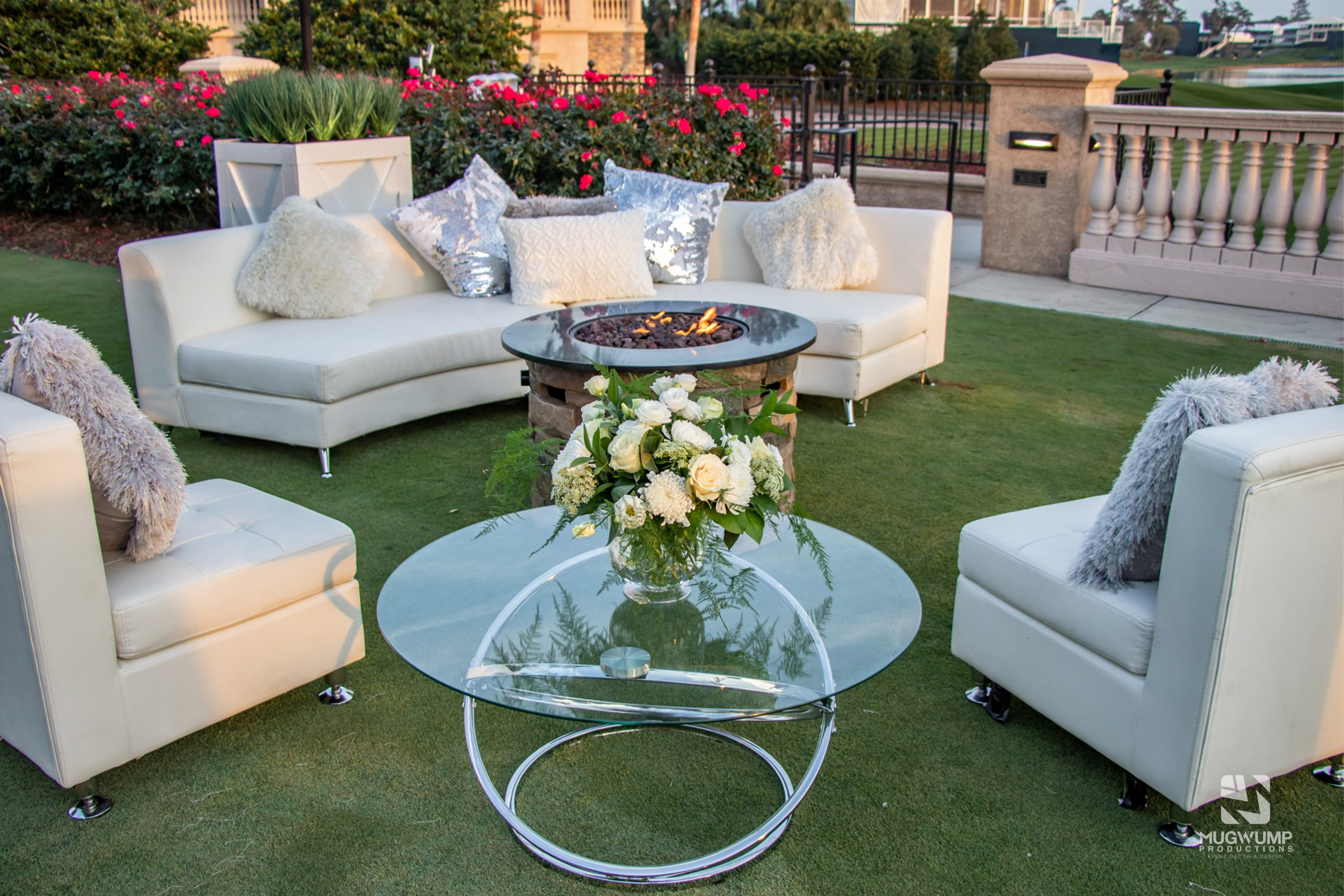 White Event Furniture Rentals