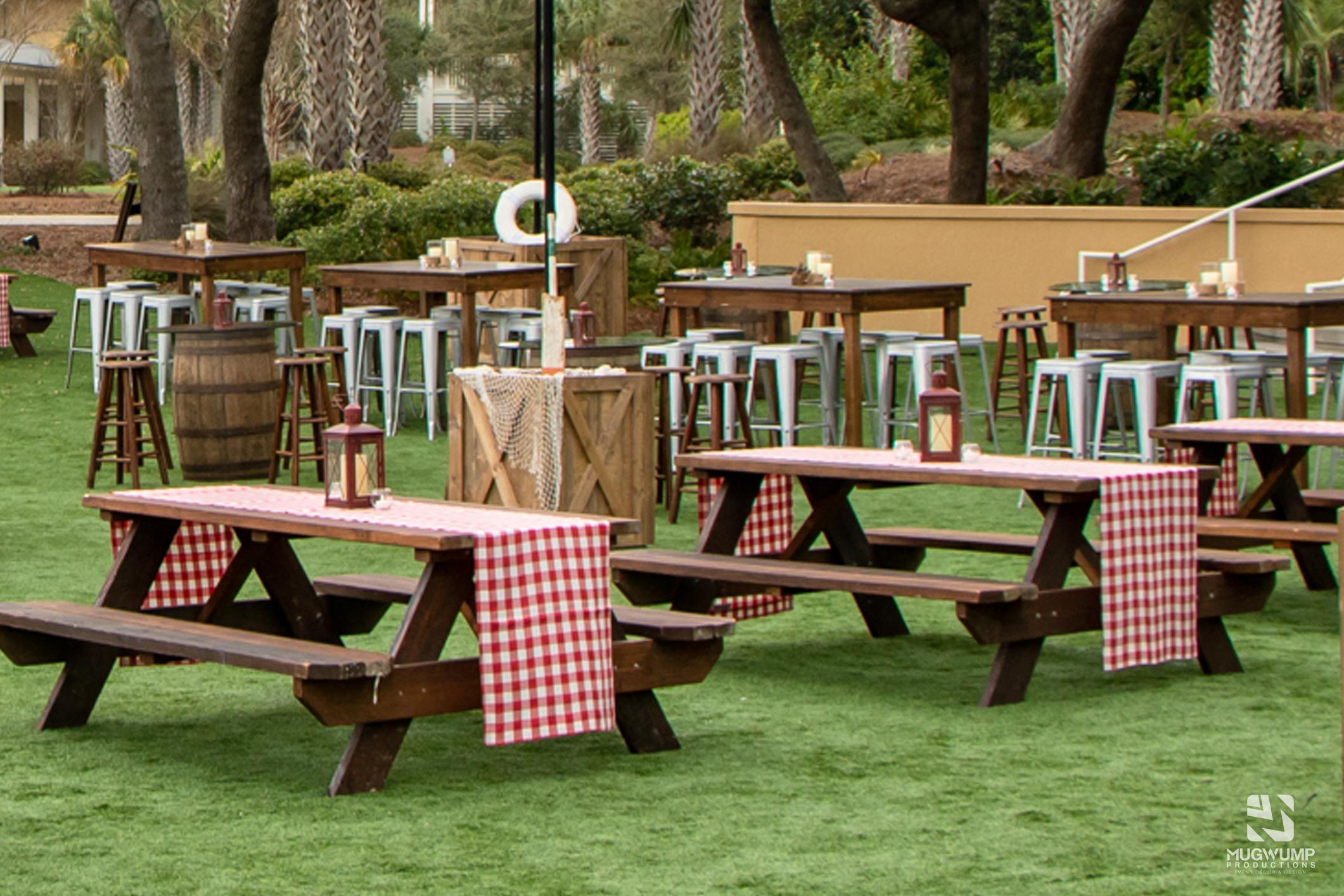 picnic table rental