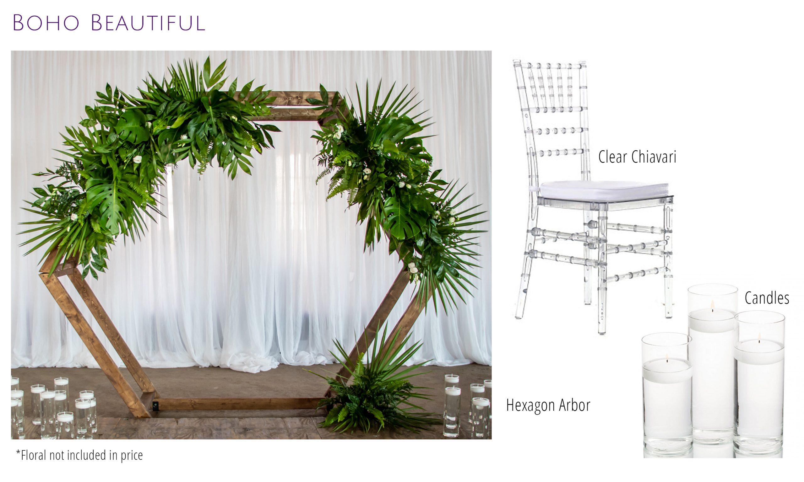 Boho Beautiful Wedding Decor