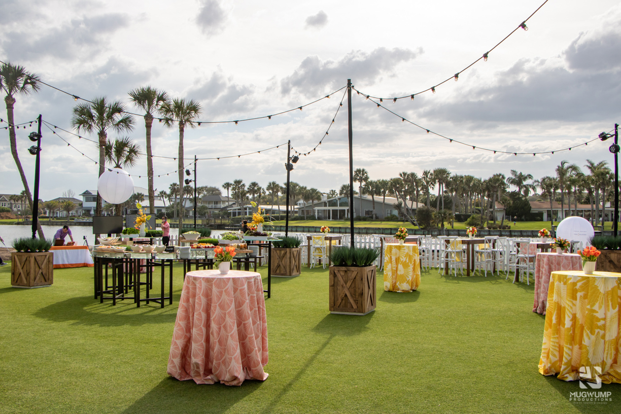 Event rentals for outdoor event
