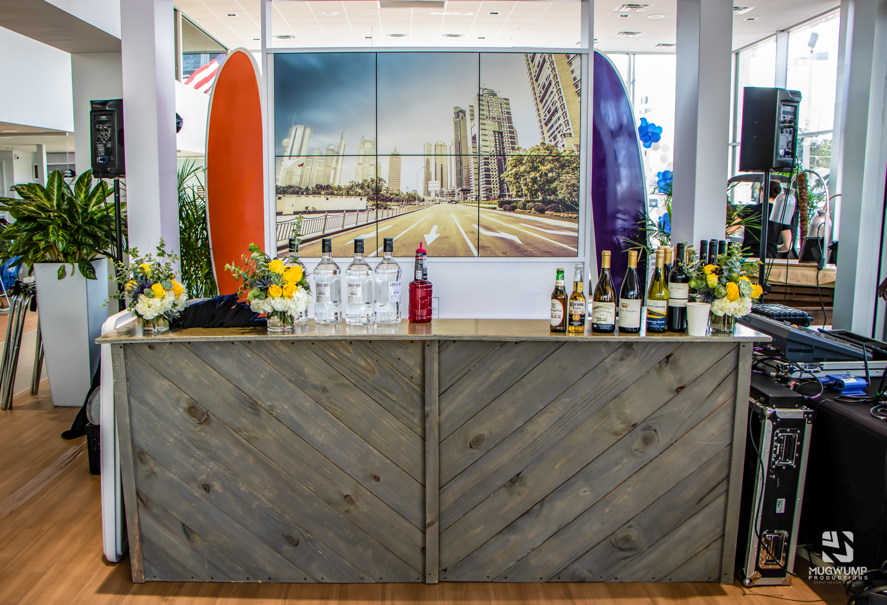 Bar rental for event