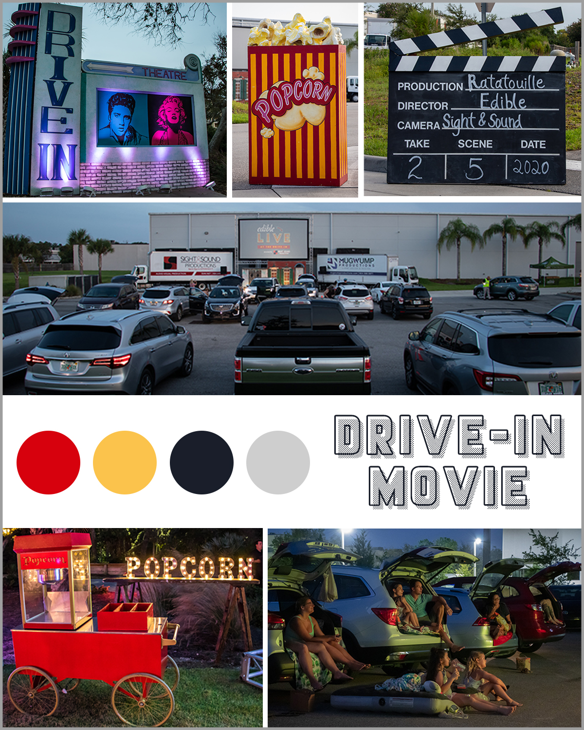 Drive-In Movie Party Rentals