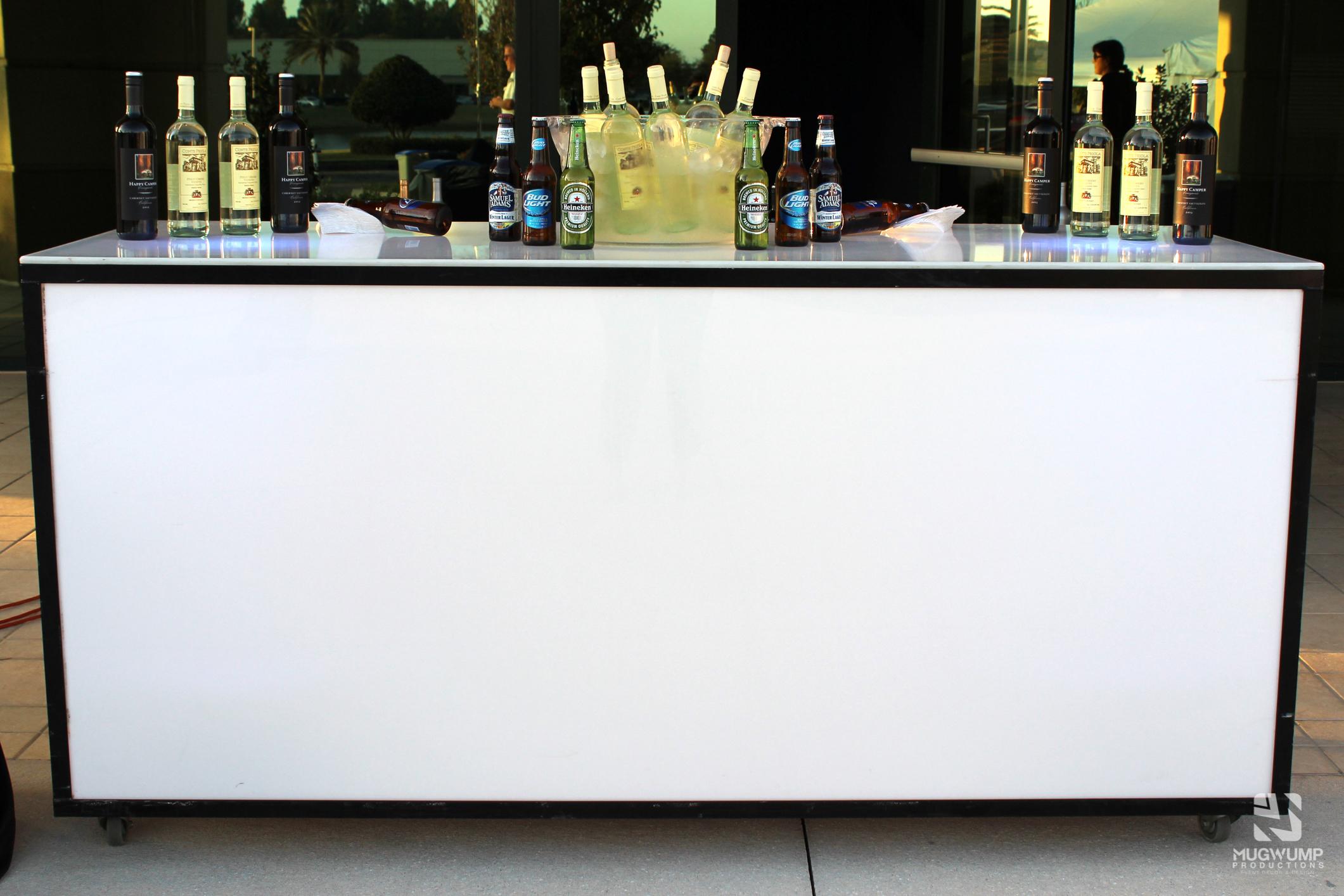 Glow Bar Rental