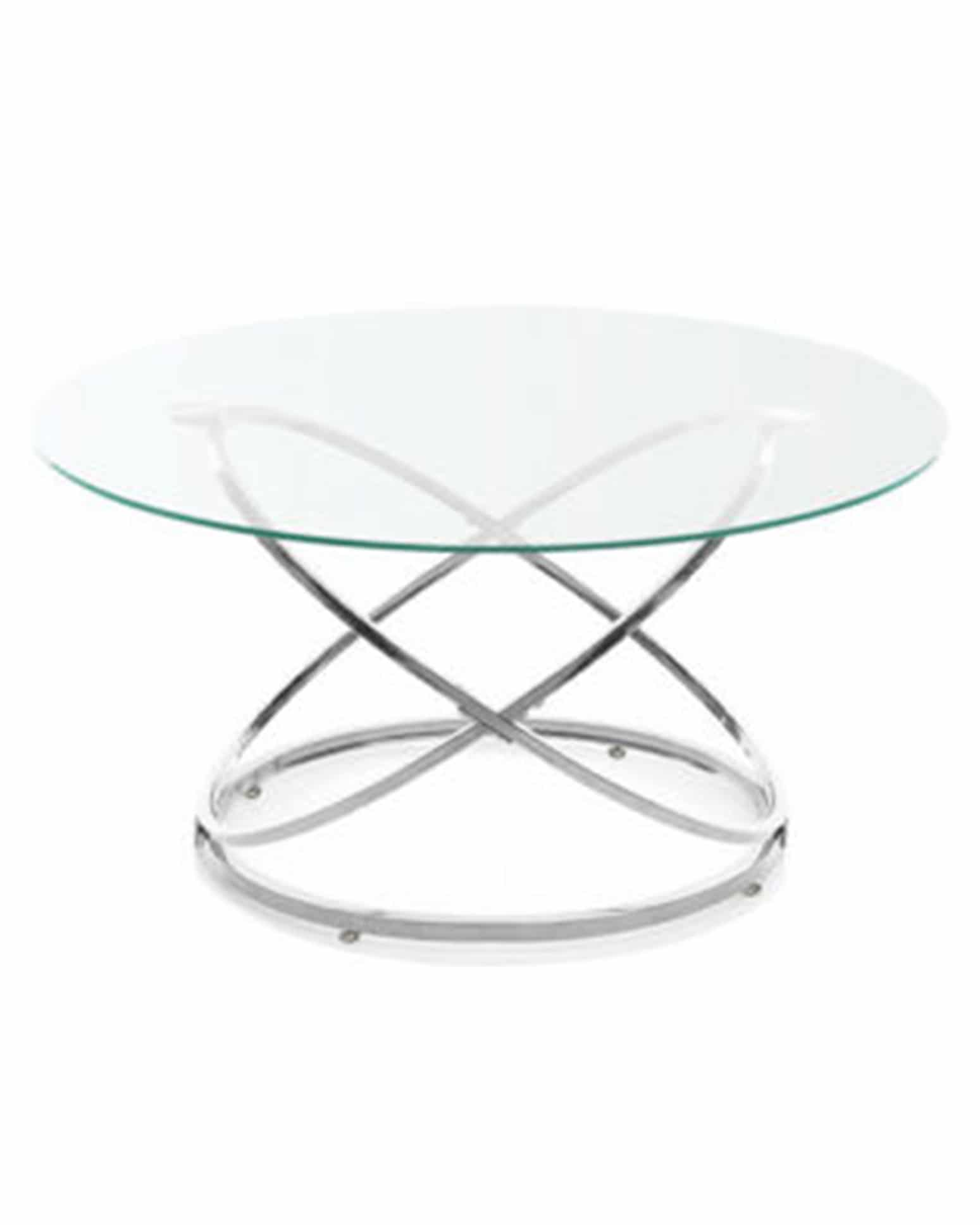 Round-Glass-Coffee-Table-with-Chrome-Legs